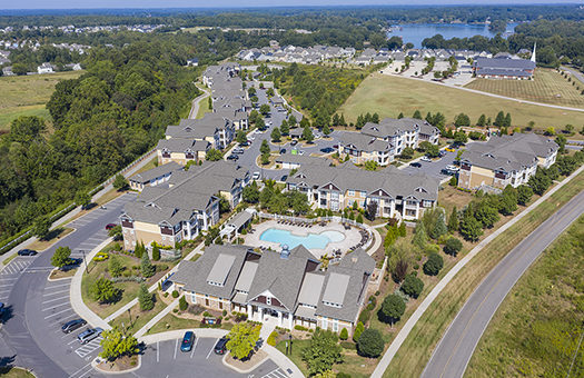 Bell Lake Norman aerial
